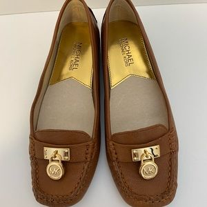Michael Kors Leather Loafers Size 5.5